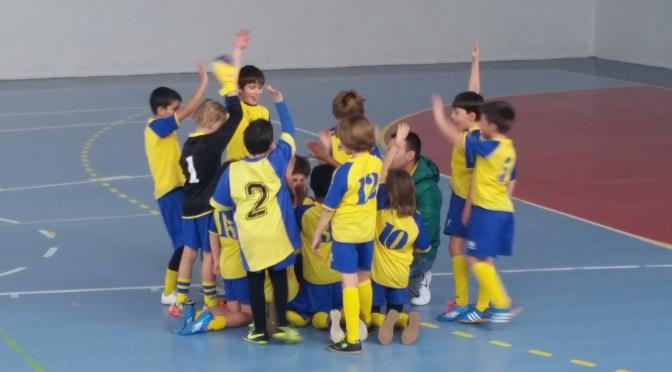 Partido de Fútbol sala -Benjamín