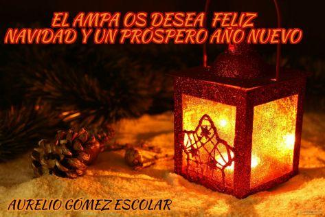 Feliz Navidad Ampa