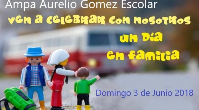 DIA DE LAS FAMILIAS 3 DE JUNIO DE 2018